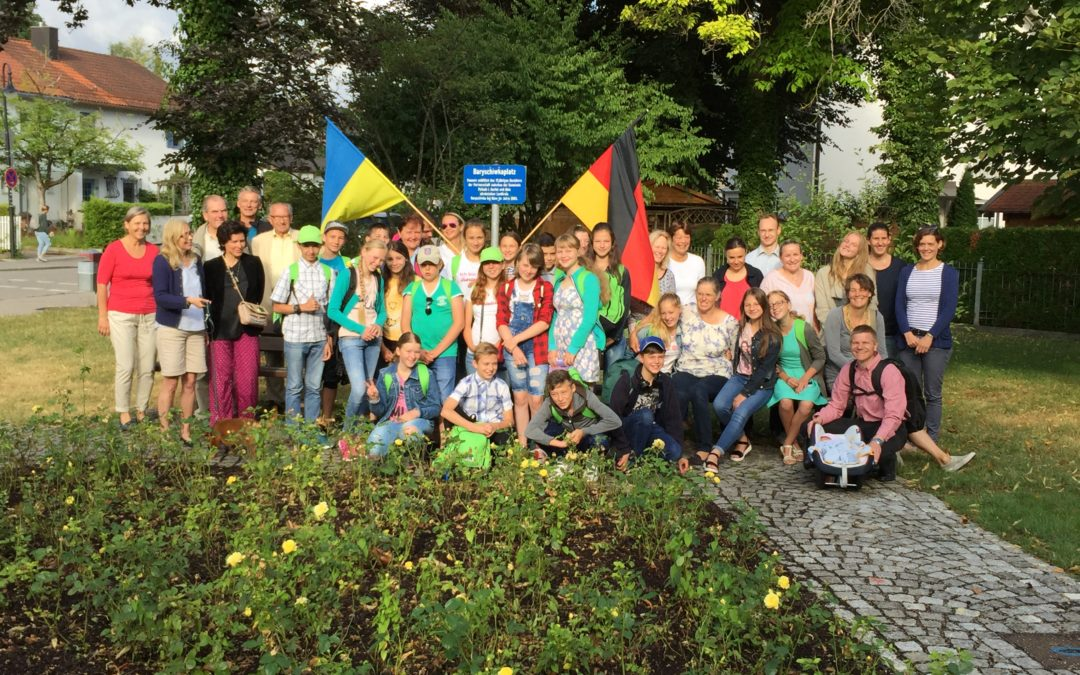 28. Kinderbesuch in Pullach