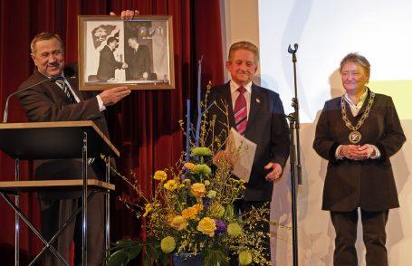 Begründer der Partnerschaft wird Ehrenbürger